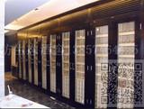 联排实木酒柜
